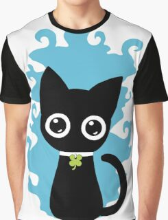 Lucky Cat Graphic T-Shirt