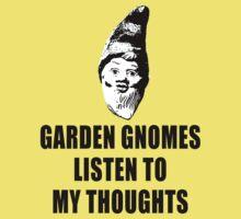 Garden Gnomes (black) Kids Clothes