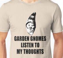 Garden Gnomes (black) Unisex T-Shirt