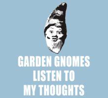 Garden Gnomes (white) Kids Tee