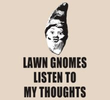 Lawn Gnomes (black) by MissCake