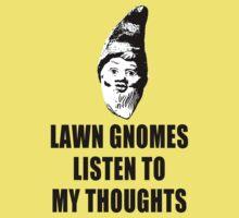 Lawn Gnomes (black) Kids Clothes