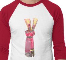 V for Victory? Vengeance? Peace? or Closure? Men's Baseball ¾ T-Shirt