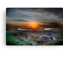 View over Blakbney Point. Canvas Print