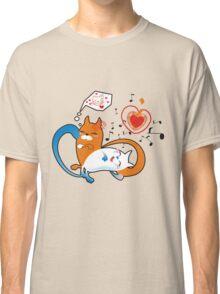 funny cats Classic T-Shirt