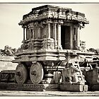 Stone Chariot Temple by Neha Singh