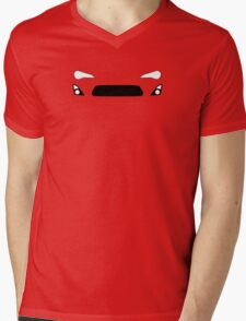 ZN6  Simplistic design Mens V-Neck T-Shirt