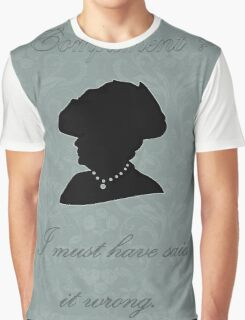 Violet Crawley Graphic T-Shirt