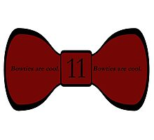 We Love the Bowties. Photographic Print