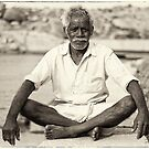 An old boatman by Neha Singh