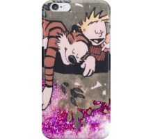 Calvin and Hobbes Sleep iPhone Case/Skin