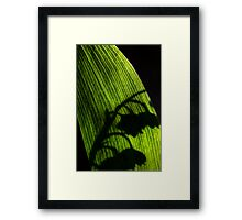 Shadow of the Valley Framed Print
