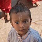 Young boy all ready to pray by Neha Singh