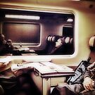 The usual goings-on on the train trip by Ale Di Gangi