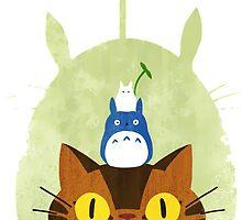 Happy Friday Catbus - Totoro by BangBangke