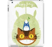 Happy Friday Catbus - Totoro iPad Case/Skin