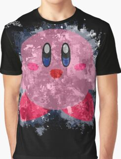 Kirby Splatter Graphic T-Shirt