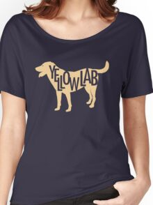 Yellow Lab Women's Relaxed Fit T-Shirt