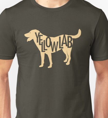 Yellow Lab Unisex T-Shirt