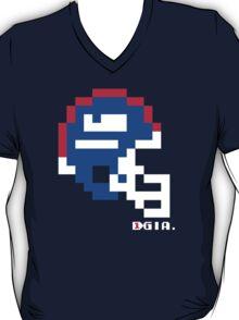 Tecmo Bowl - New York Giants - 8-bit - Mini Helmet shirt T-Shirt