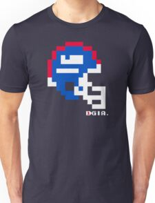Tecmo Bowl - New York - 8-bit - Mini Helmet shirt Unisex T-Shirt