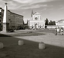 Santa Maria Novella (Firenze) italy by bertipictures
