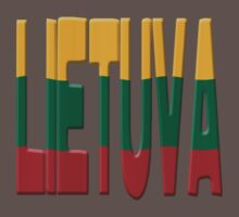 Lithuanian flag by stuwdamdorp