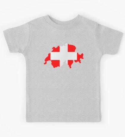 Switzerland Kids Tee
