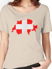 Switzerland Women's Relaxed Fit T-Shirt