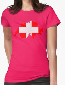 Switzerland Womens T-Shirt