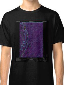 USGS Topo Map Washington State WA Boundary Dam 240170 1992 24000 Inverted Classic T-Shirt