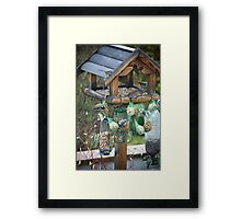 Small Birds with Big Appetites Framed Print