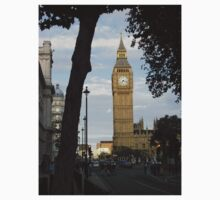 Big Ben Through the Trees Kids Clothes