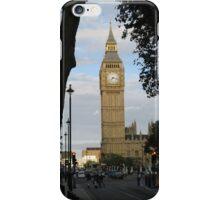 Big Ben Through the Trees iPhone Case/Skin