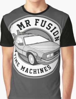 Back to the Future Mr Fusion Time Machines Graphic T-Shirt