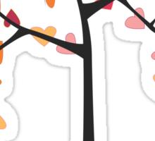 Tree love Sticker
