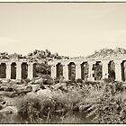 Ruins at Hampi by Neha Singh