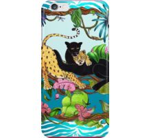 Companions in Paradise by Ro London - Menagerie Collection iPhone Case/Skin