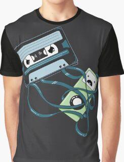 The Comeback | Retro Music Cassette Vs iPod Graphic T-Shirt