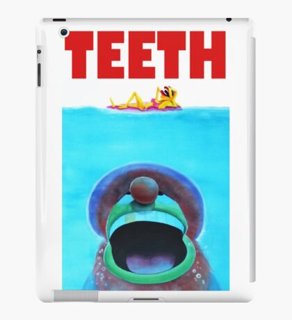 Teeth Parody iPad Case/Skin