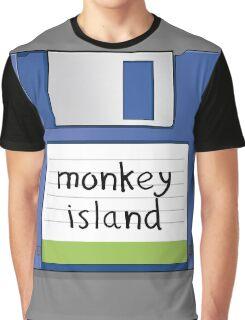 Monkey Island Retro MS-DOS/Commodore Amiga games Graphic T-Shirt