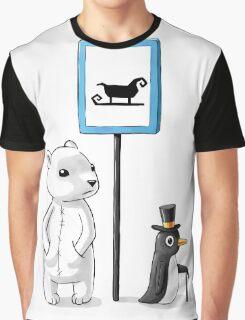 School Stop Graphic T-Shirt