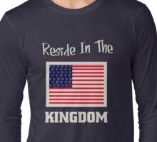 KingDom Patriotic Long Sleeve T-Shirt