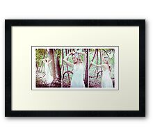 Tina-Woods-Trio Framed Print