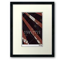 "Freedom Oil #2: ""Efficiently American"" Framed Print"