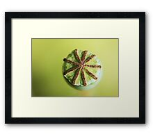 Floating Star! Framed Print