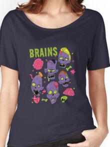Brains Women's Relaxed Fit T-Shirt