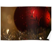 Christmas Ball Ornament Poster