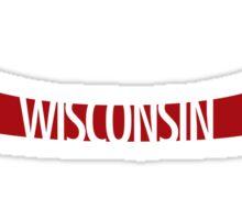 Canoe Wisconsin 2 Sticker
