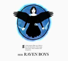 Her Raven Boys Womens Fitted T-Shirt